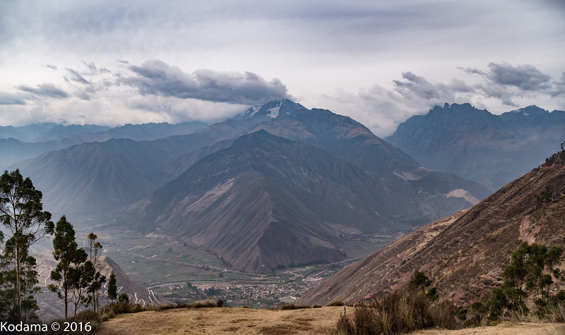 On the bus ride from Cusco into the Sacred Valley.
