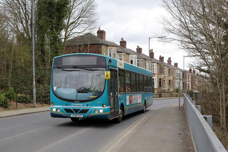 2677 CX58EUV, Horwich 21/3/2016
