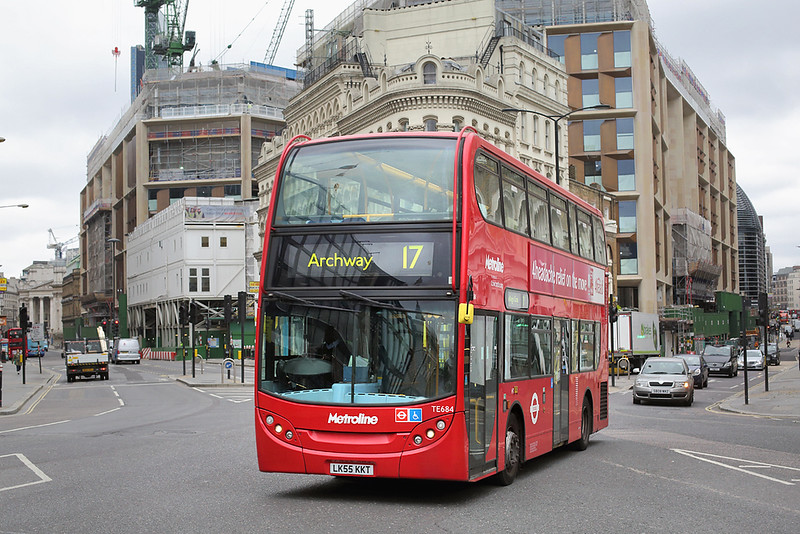 TE684 LK55KKT, Cannon Street 21/5/2016