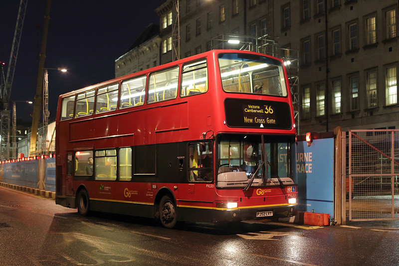 PVL321 PJ52LVY, Paddington 22/1/2016