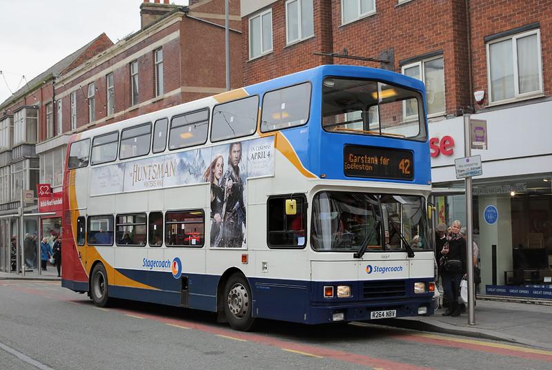 16664 R264NBV, Blackpool 22/3/2016