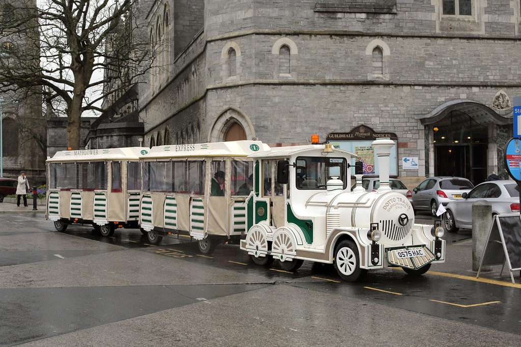 Plymouth Land Train Q575HAC, Plymouth 22/4/2016