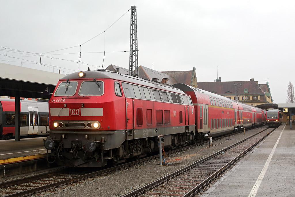 218443 Lindau Hbf 23/2/2016<br /> IRE4236 1702 Lindau Hbf-Stuttgart Hbf