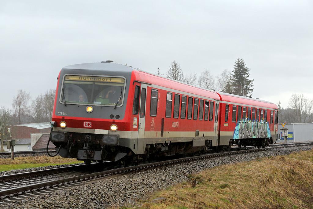 628562 Hergatz 23/2/2016<br /> RB22863 1336 Lindau Hbf-Aulendorf