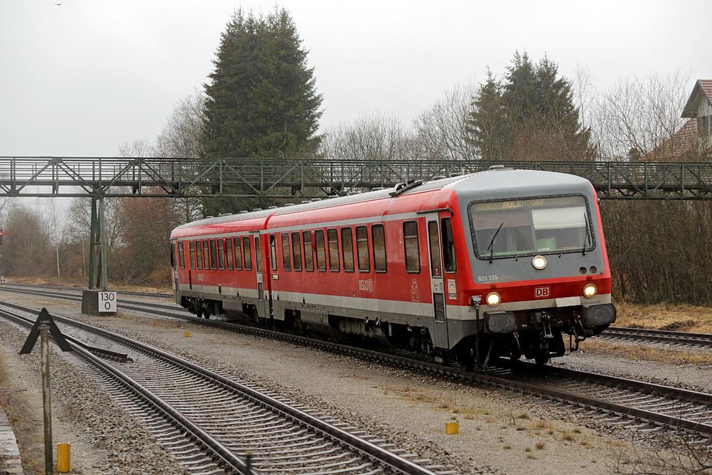 629335 Hergatz 23/2/2016<br /> RB22895 1538 Lindau Hbf-Aulendorf