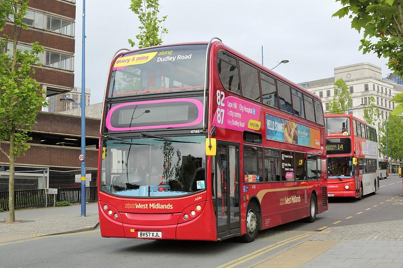 4746 BV57XJL, Birmingham 23/6/2016