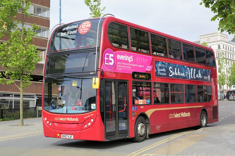 4741 BV57XJF, Birmingham 23/6/2016