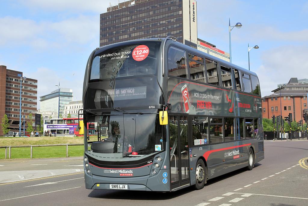 6755 SN15LJX, Birmingham 23/6/2016