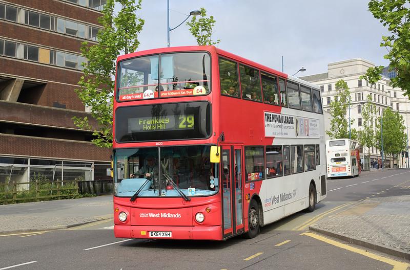 4620 BX54XSH, Birmingham 23/6/2016