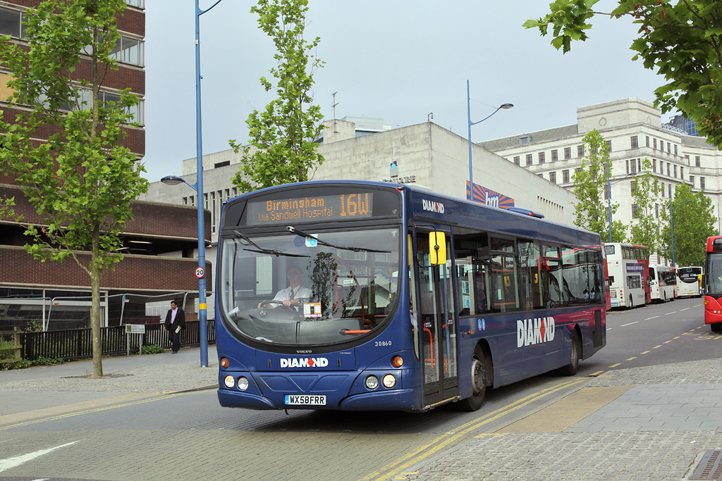 30860 WX58FRR, Birmingham 23/6/2016