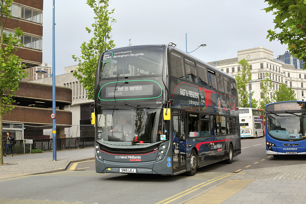6734 SN15LEJ, Birmingham 23/6/2016