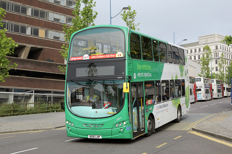 5504 BX61LHP, Birmingham 23/6/2016