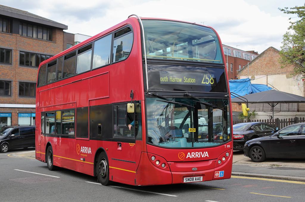 T199 SN08AAE, South Harrow 23/9/2016