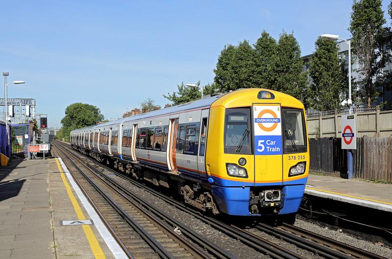 378255 Harlesden 23/9/2016<br /> 2C17 1021 Watford Junction-London Euston