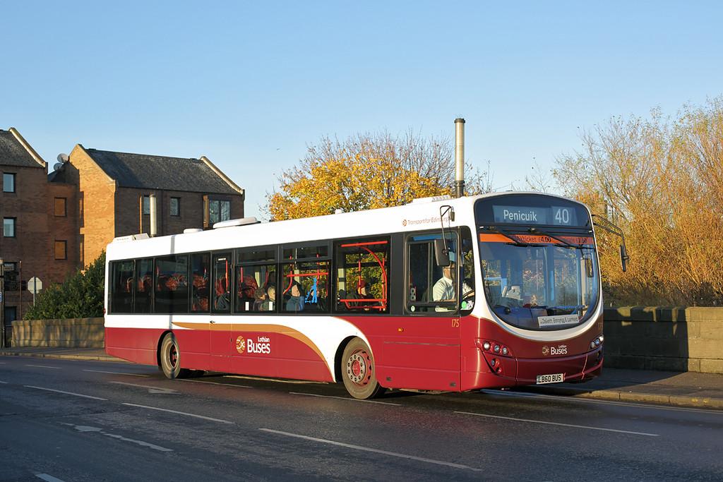 175 LB60BUS, Musselburgh 23/11/2016