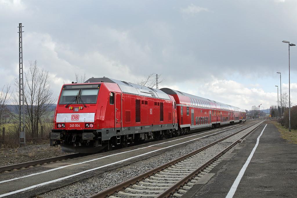 245004 Sontheim 24/2/2016<br /> RE57409 1205 Memmingen-München Hbf