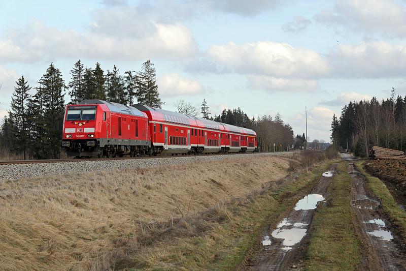 245002 Türkheim 24/2/2016<br /> RE57412 1420 München Hbf-Memmingen
