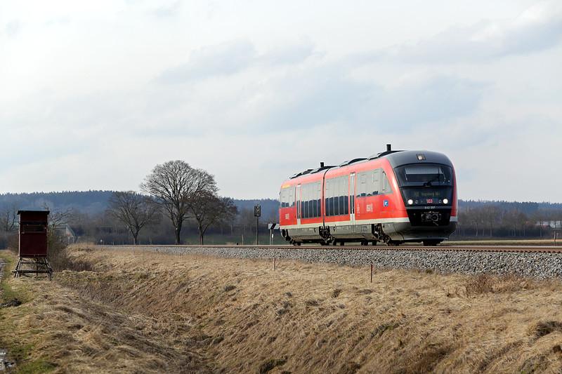 642097 Türkheim 24/2/2016<br /> RB57529 1507 Memmingen-Augsburg Hbf