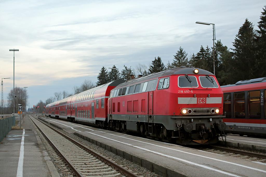 218497 Türkheim 24/2/2016<br /> RE57444 1640 München Hbf-Memmingen