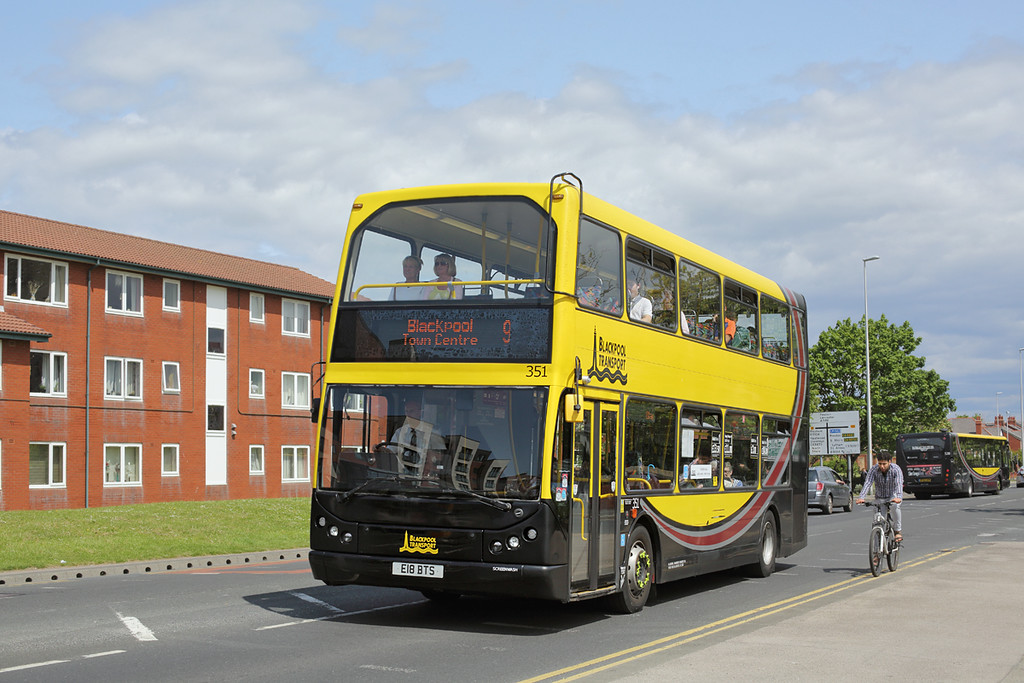 351 E18BTS, Blackpool 24/5/2016