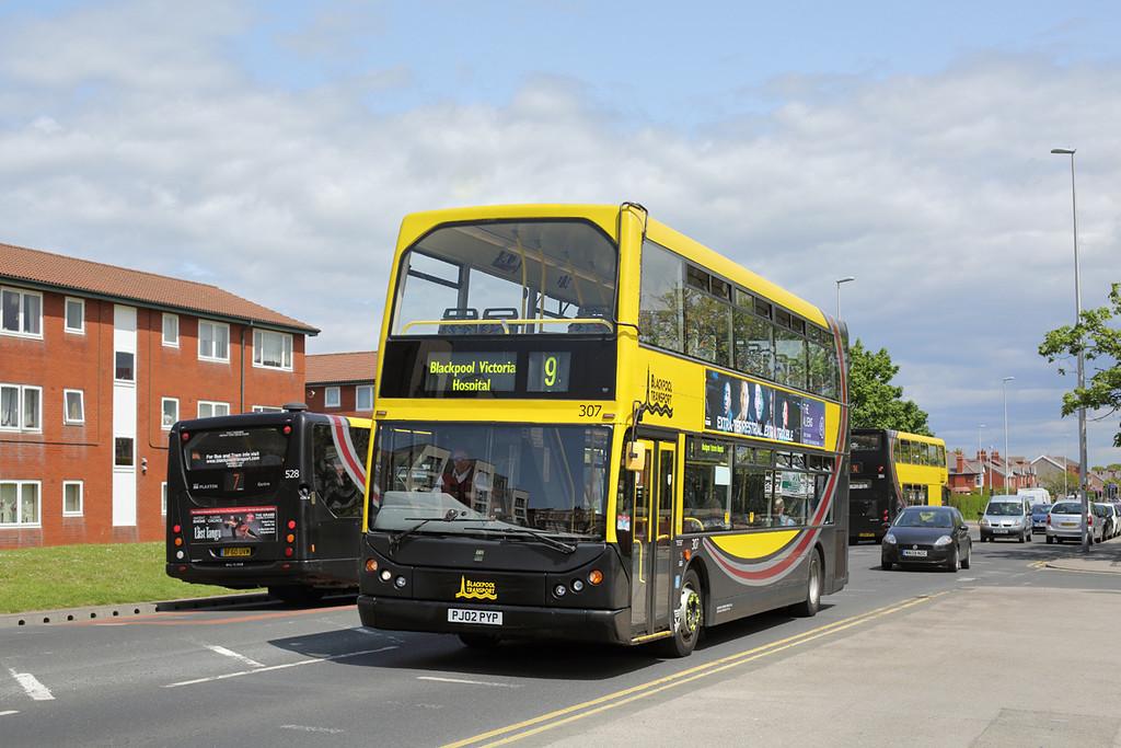 307 PJ02PYP, Blackpool 24/5/2016