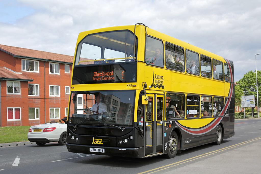 361 L700BTS, Blackpool 24/5/2016