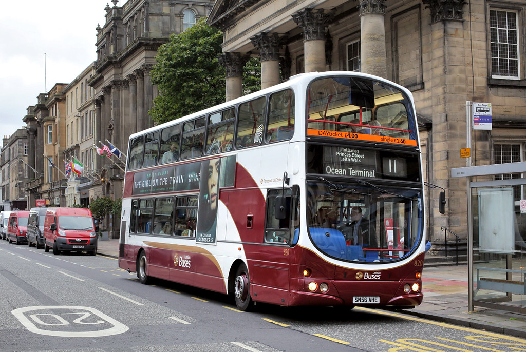 820 SN56AHE, Edinburgh 24/9/2016