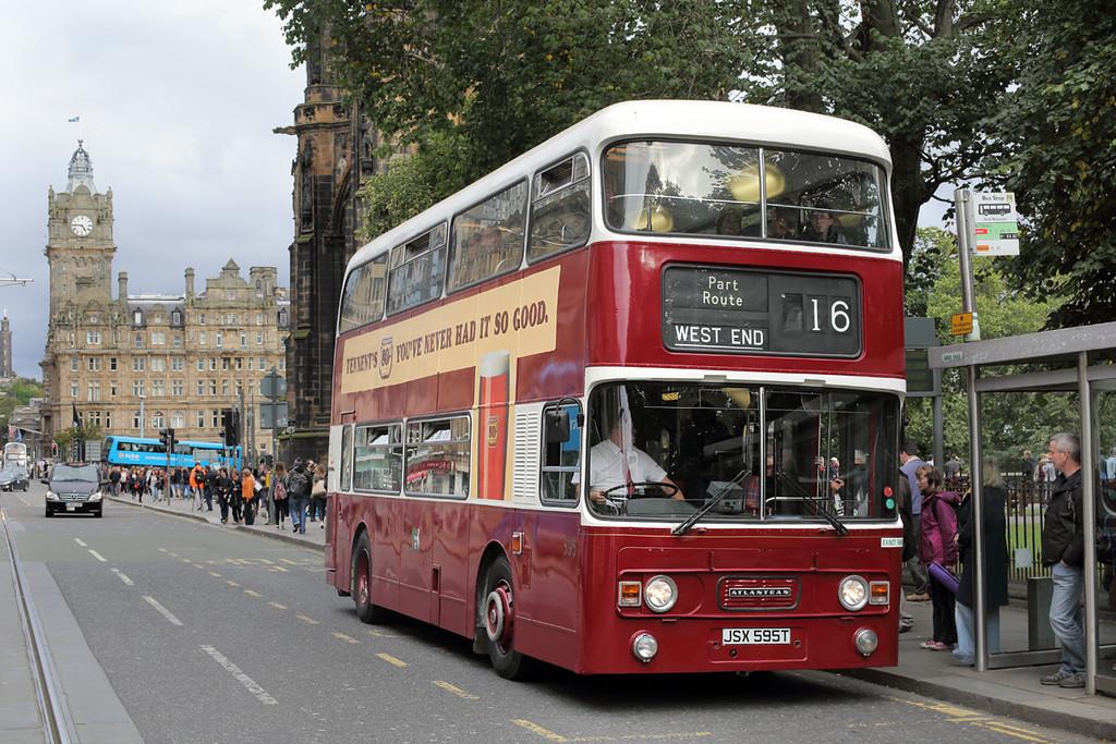 595 JSX595T, Edinburgh 24/9/2016