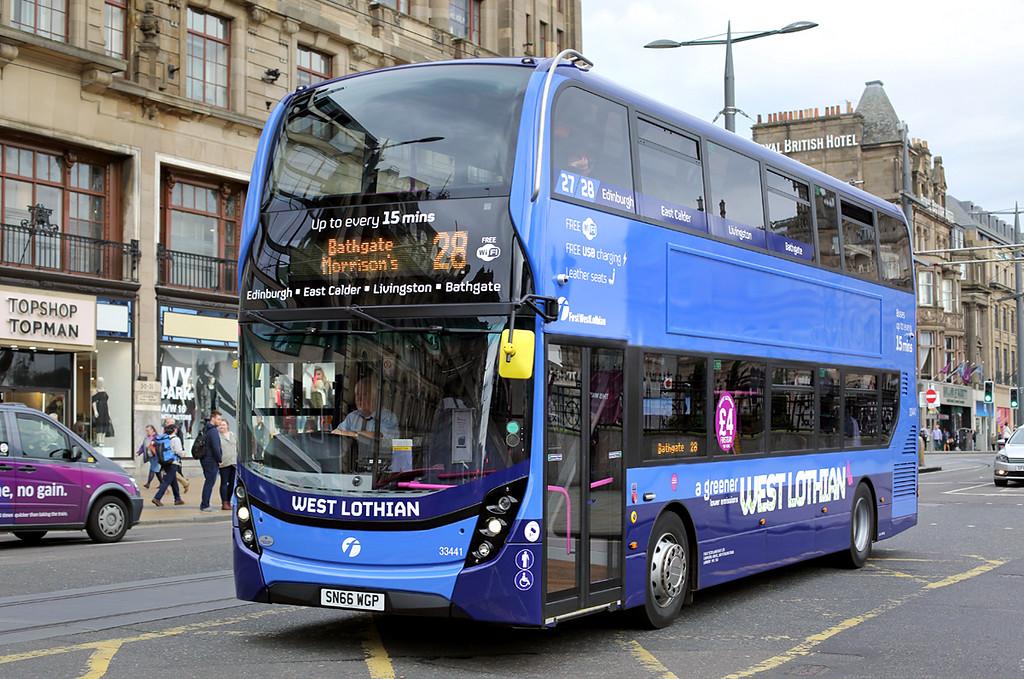 33441 SN66WGP, Edinburgh 24/9/2016