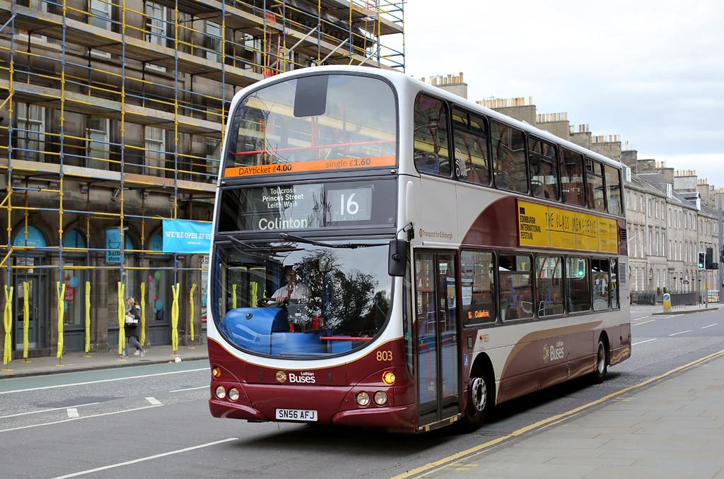 803 SN56AFJ, Edinburgh 24/9/2016