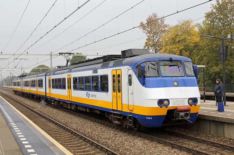 2989 Eindhoven Strijp-S 24/10/2016<br /> 4441 1153 Nijmegen-Eindhoven