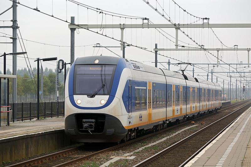 2612 Lage Zwaluwe 24/10/2016<br /> 5135 0943 Den Haag Centraal-Roosendaal