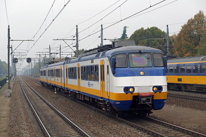 2987 Eindhoven Strijp-S 24/10/2016<br /> 4445 1253 Nijmegen-Eindhoven