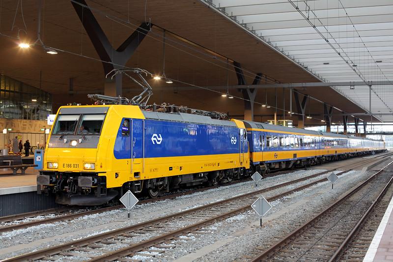 186031 Rotterdam Centraal 24/10/2016<br /> ICD922 0855 Amsterdam Centraal-Breda