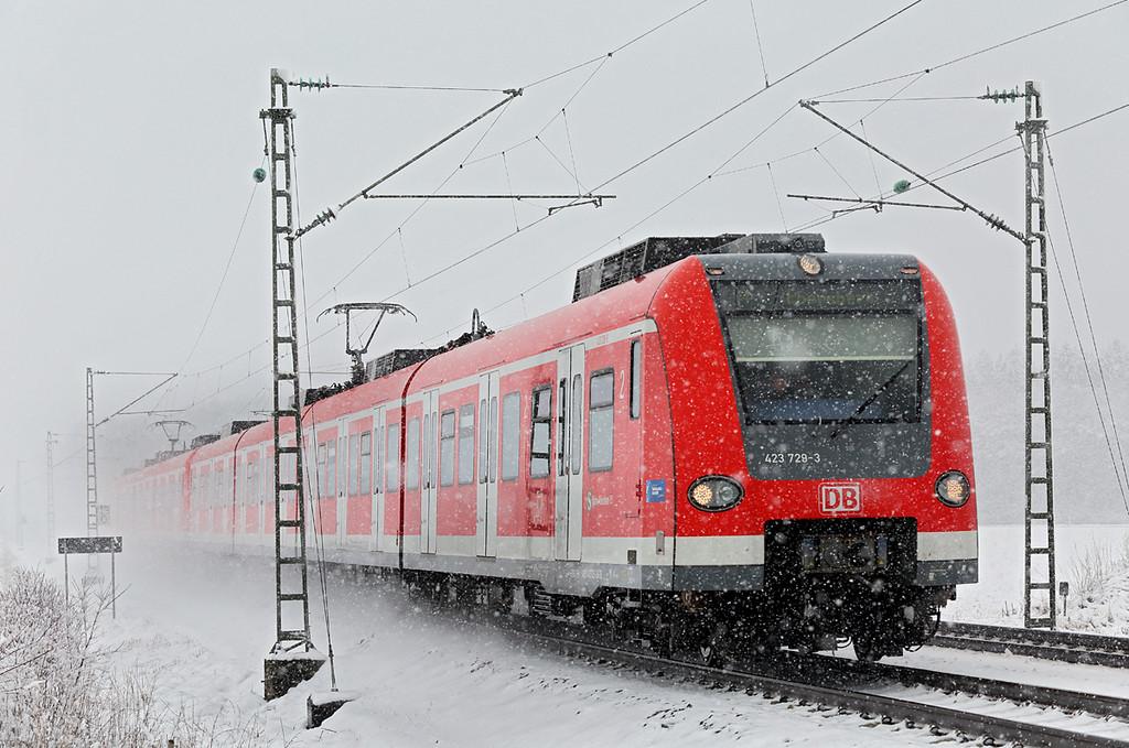 423729 München-Aubing 25/2/2016<br /> S4 0948 Buchenau-Ebersberg