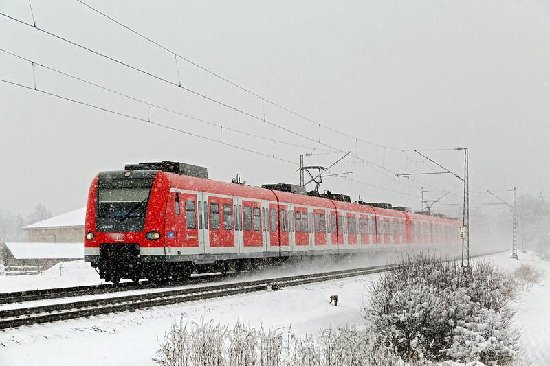 423787 München-Aubing 25/2/2016<br /> S4 0911 Ebersberg-Geltendorf