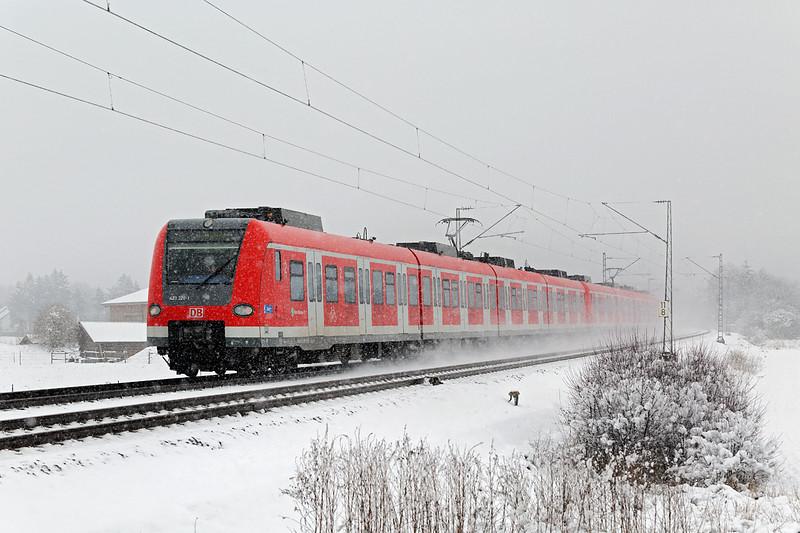423330 München-Aubing 25/2/2016<br /> S4 0931 Ebersberg-Geltendorf