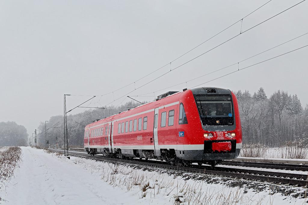 612650 München-Aubing 25/2/2016<br /> RE3483 0941 Kempten Hbf-München Hbf