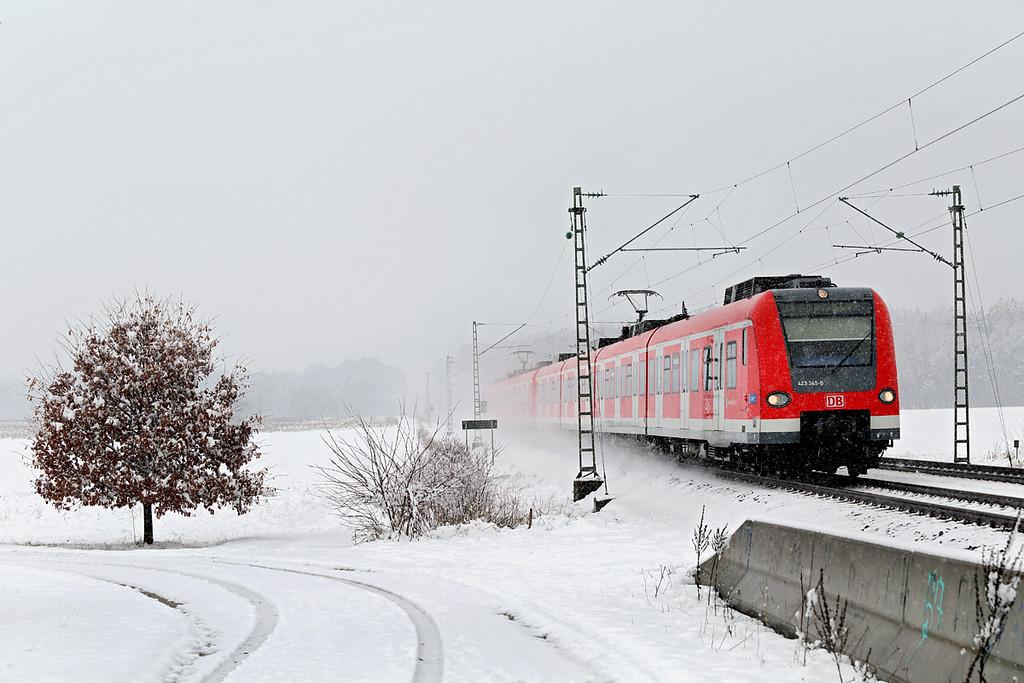 423349 München-Aubing 25/2/2016<br /> S4 1014 Geltendorf-Grafing