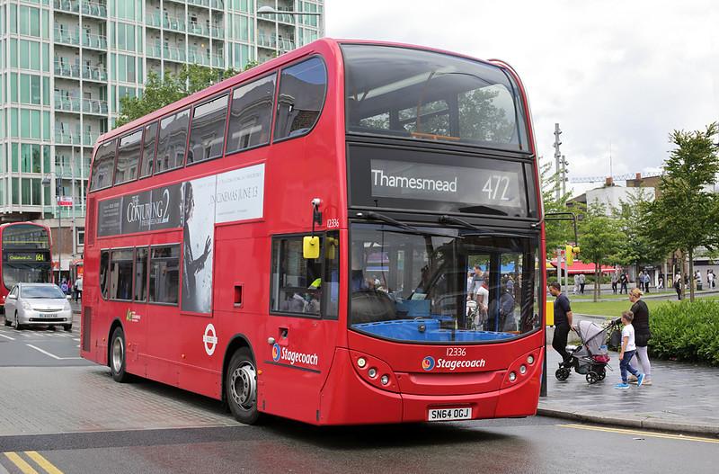 12336 SN64OGJ, Woolwich 25/6/2016