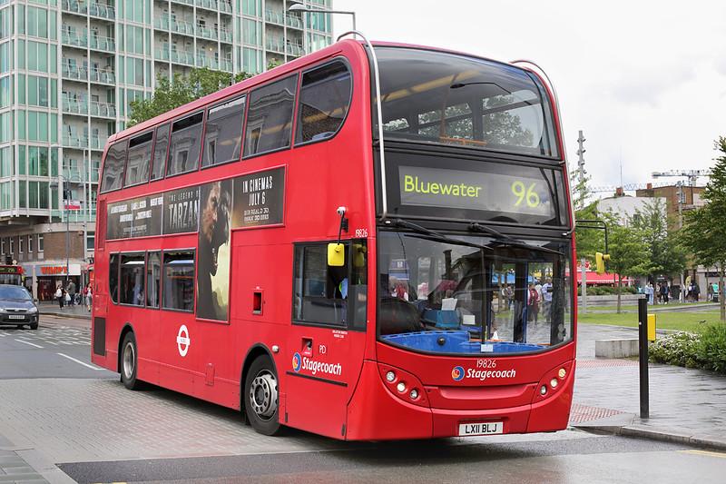 19826 LX11BLJ, Woolwich 25/6/2016