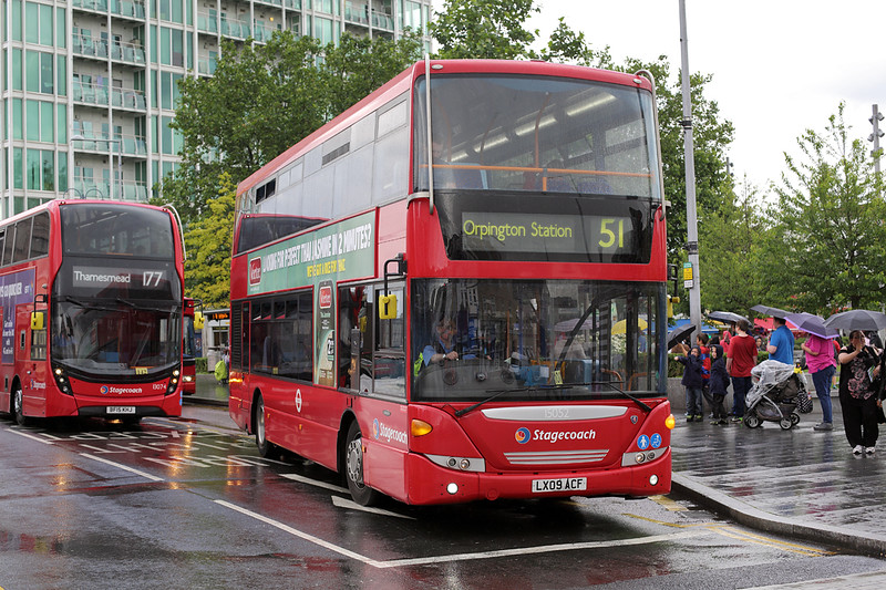 15052 LX09ACF, Woolwich 25/6/2016