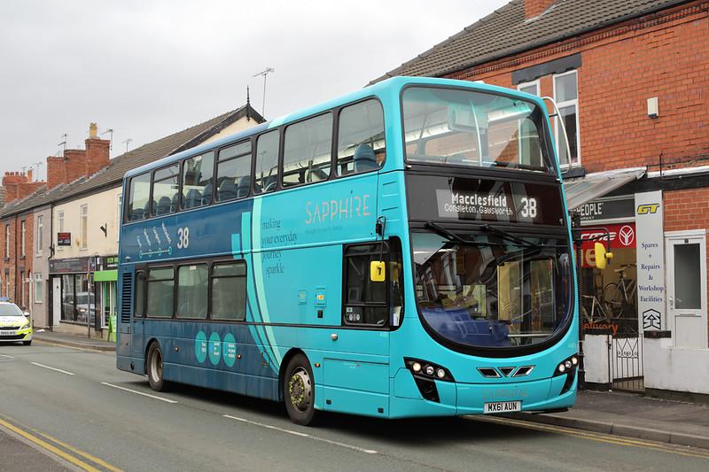 4489 MX61AUN, Crewe 26/3/2016