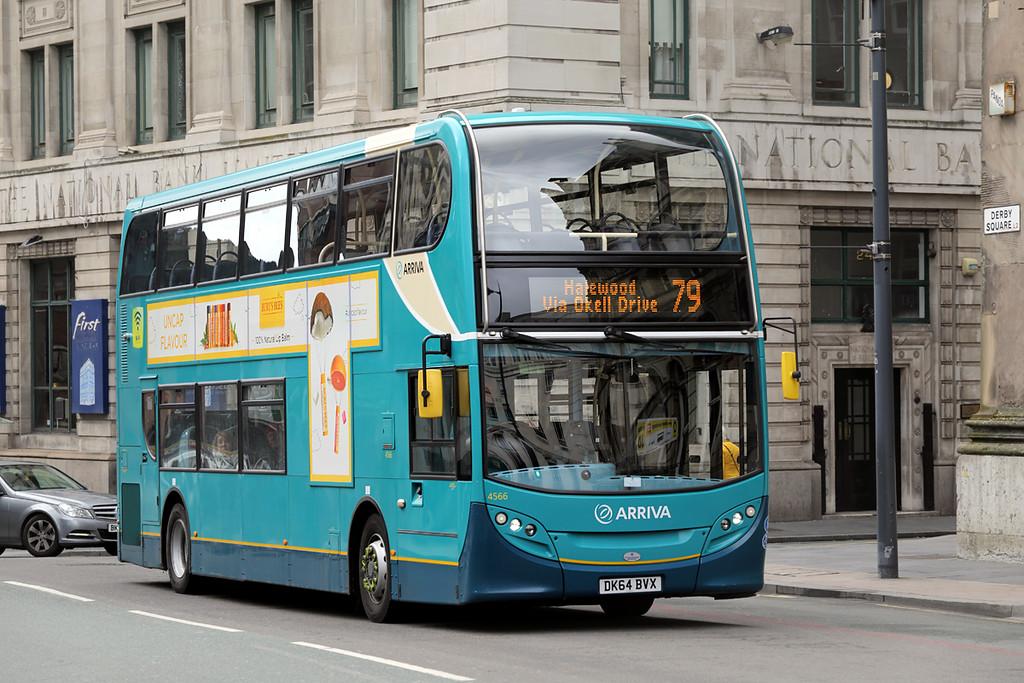 4566 DK64BVX, Liverpool 27/3/2016