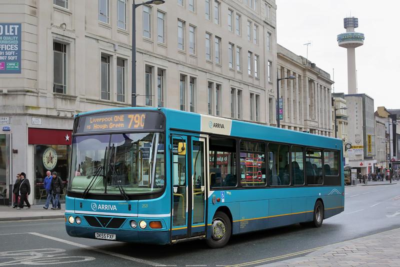 2521 DK55FXF, Liverpool 28/3/2016