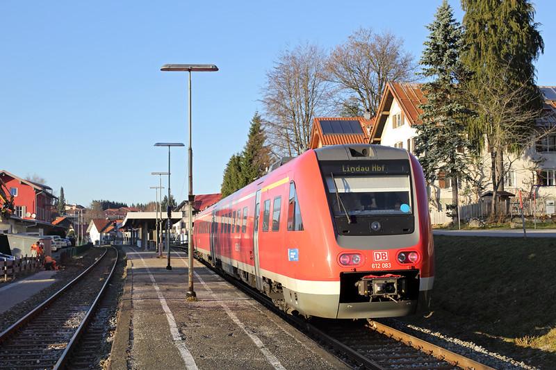 612083 Oberstaufen 29/11/2016<br /> RE29324 1532 Oberstaufen-Lindau Hbf