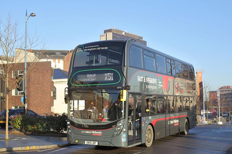 6723 SN15LDF, Birmingham 29/12/2016