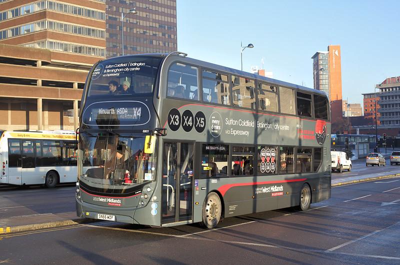 6803 SN66WDF, Birmingham 29/12/2016