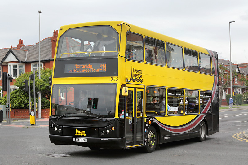 346 E13BTS, Blackpool 30/6/2016
