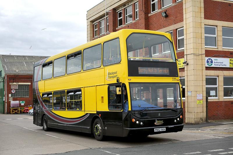 335 PN52XKH, Blackpool 30/6/2016